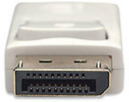 DisplayPort Anschlusskabel [1x Mini-DisplayPort Stecker - 1x DisplayPort Stecker] 2 m Weiß Manhattan