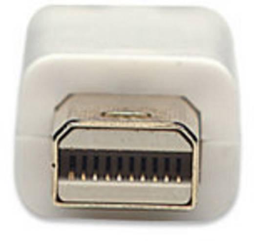 Manhattan DisplayPort Anschlusskabel [1x Mini-DisplayPort Stecker - 1x DisplayPort Stecker] 2 m Weiß