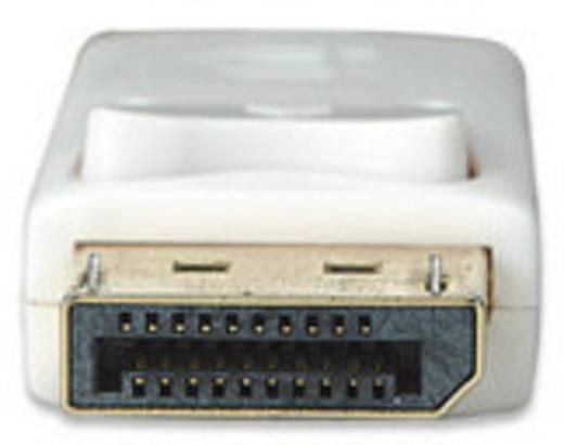 DisplayPort Anschlusskabel [1x Mini-DisplayPort Stecker - 1x DisplayPort Stecker] 3 m Weiß Manhattan