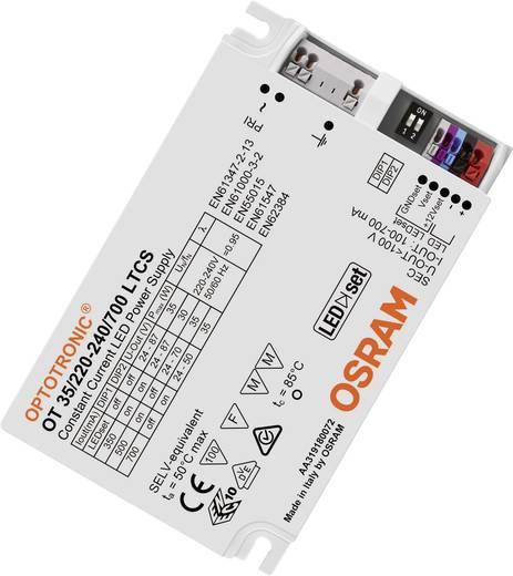 LED-Treiber Konstantstrom OSRAM OT 35/220-240/700 LTCS VS20 35 W (max) 100 - 700 mA 24 - 87 V/DC dimmbar