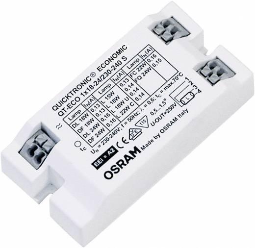 OSRAM Leuchtstofflampen, Kompaktleuchtstofflampe EVG 24 W (1 x 24 W)