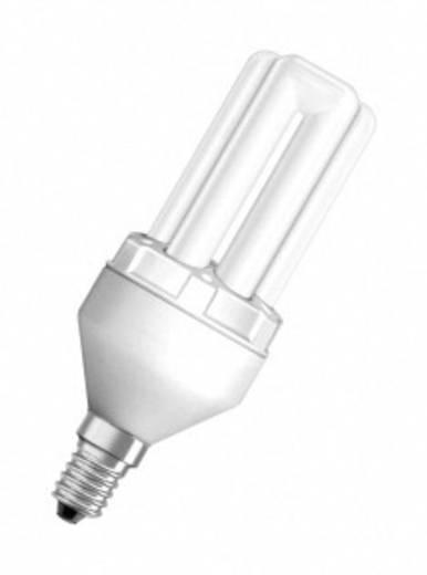 Energiesparlampe 129.0 mm OSRAM 230 V E14 10 W = 50 W Warm-Weiß EEK: A Stabform Inhalt 1 St.
