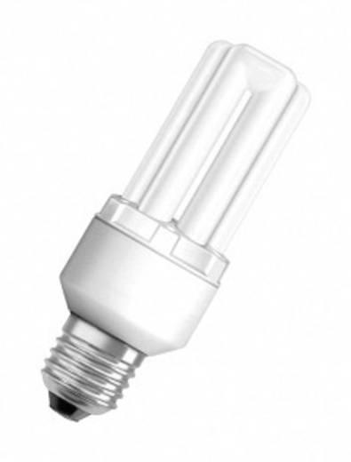 Energiesparlampe 128.0 mm OSRAM 230 V E27 14 W = 65 W Warm-Weiß EEK: A Stabform Inhalt 1 St.