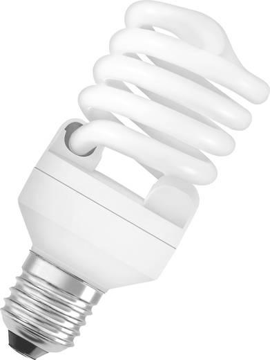 Energiesparlampe 135 mm OSRAM 230 V E27 23 W = 107 W Neutralweiß EEK: A Spiralform 1 St.