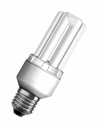 Energiesparlampe 131.0 mm OSRAM 230 V E27 14 W = 65 W Neutral-Weiß EEK: A Stabform Inhalt 1 St.