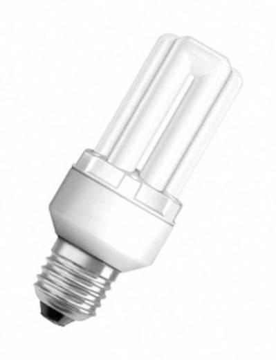Energiesparlampe 120.0 mm OSRAM 230 V E27 11 W = 53 W Neutral-Weiß EEK: A Stabform Inhalt 1 St.