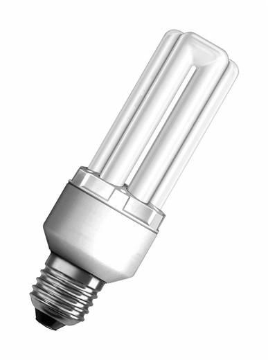 Energiesparlampe 148.0 mm OSRAM 230 V E27 18 W = 85 W Neutral-Weiß EEK: A Stabform Inhalt 1 St.