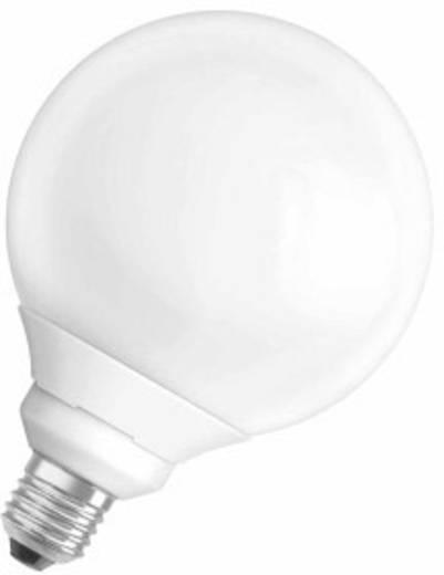 Energiesparlampe 158 mm OSRAM 230 V E27 15 W = 60 W Warmweiß EEK: A Globeform 1 St.