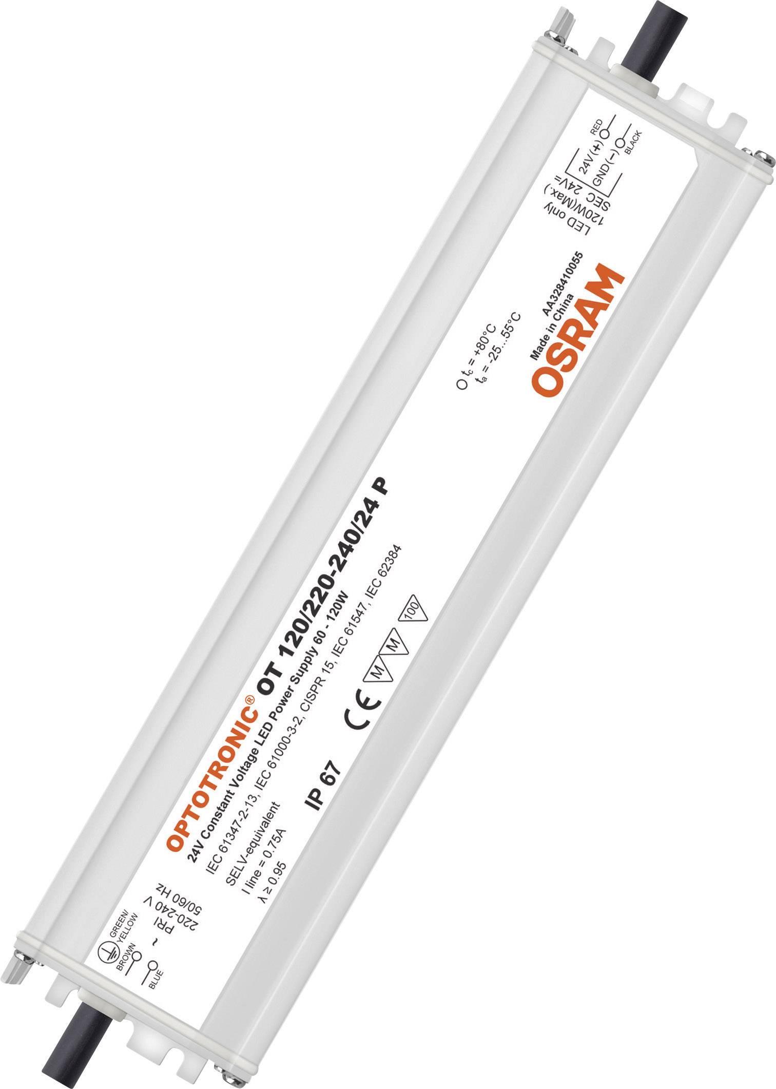 OSRAM OPTOTRONIC OT 120//220-240//24 P LED-Trafo