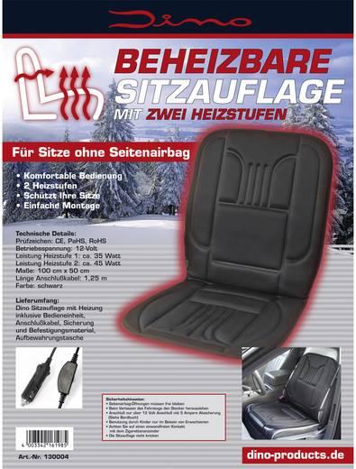 dino beheizbare sitzauflage 12 v 2 heizstufen schwarz. Black Bedroom Furniture Sets. Home Design Ideas