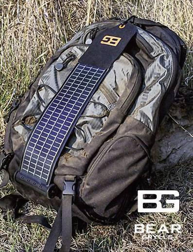Solar-Ladegerät Bushnell Bear Grylls SolarWrap PP1011BG Ladestrom Solarzelle 1000 mA 5 W Kapazität (mAh, Ah) 2200 mAh