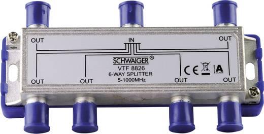 Kabel-TV Verteiler Schwaiger VTF8826 6-fach 5 - 1000 MHz kaufen