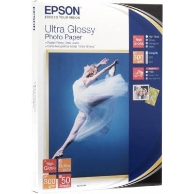 Epson Ultra Glossy Photo Paper C13S041943 Fotopapier 10 x 15 cm 300 g/m² 50 Blatt Hochglän Preisvergleich