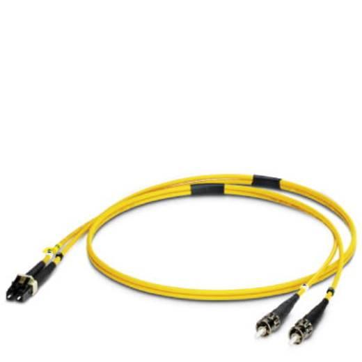 Glasfaser LWL Anschlusskabel [1x ST-Stecker - 1x LC-Stecker] 9/125µ Singlemode OS1 1 m Phoenix Contact