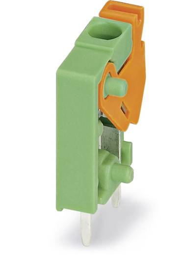 Federkraftklemmblock 1.00 mm² Polzahl 1 FFKDS / V 3,81 Phoenix Contact Grün 100 St.