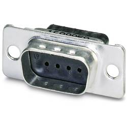 D-SUB kolíková lišta Phoenix Contact VS-09-ST-DSUB-CD-B, 180 °, Počet pinov 9, krimpované , 10 ks