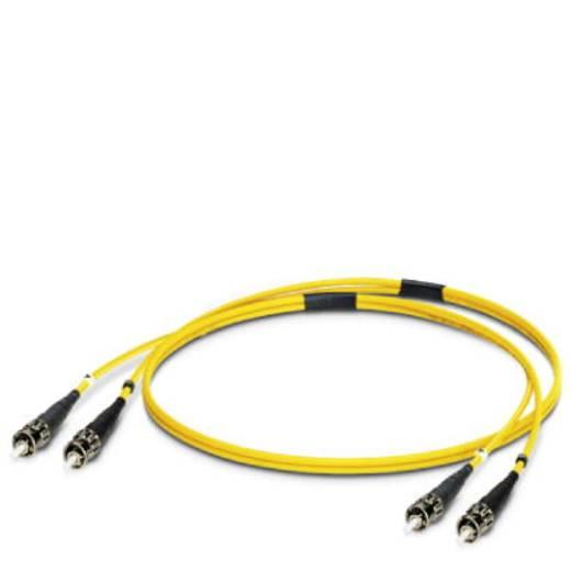 Glasfaser LWL Anschlusskabel [1x ST-Stecker - 1x ST-Stecker] 9/125µ Singlemode OS1 1 m Phoenix Contact