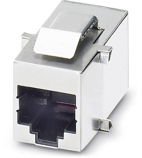 Sensor-/Aktor-Einbausteckverbinder Buchse, gerade Polzahl (RJ): 8 Phoenix Contact 1654552 VS-08-BU-RJ45-3/BU 5 St.