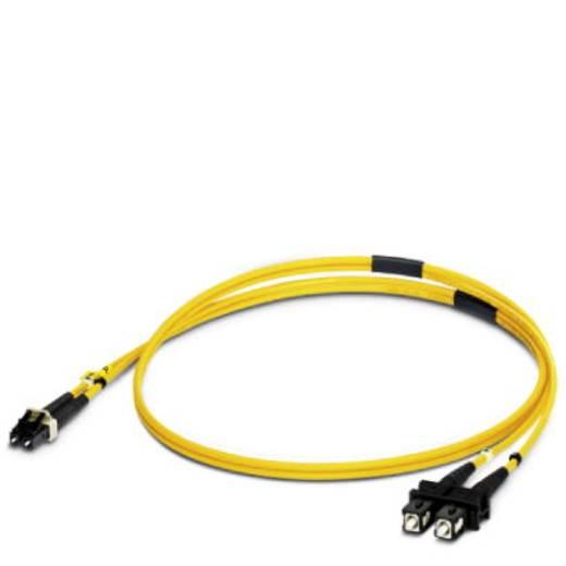 Glasfaser LWL Anschlusskabel [1x LC-Stecker - 1x SC-Stecker] 9/125µ Singlemode OS1 1 m Phoenix Contact