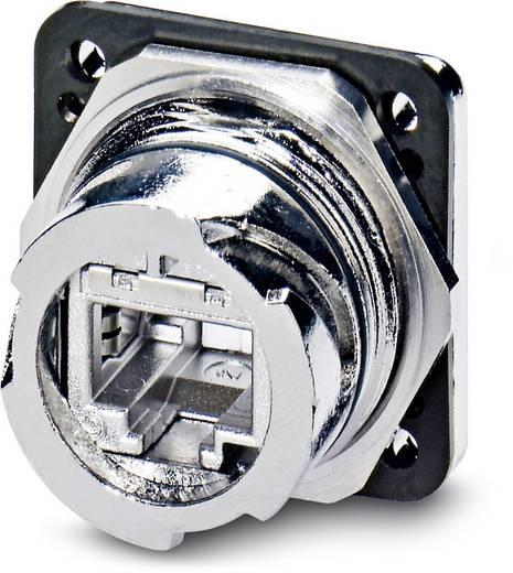 Sensor-/Aktor-Einbausteckverbinder Buchse, gerade Polzahl: 8 Phoenix Contact 1419184 VS-V1-F-RJ45-MNNA-1-C-S-JJ-S 1 St
