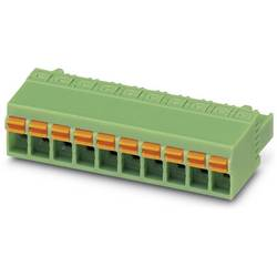 Zásuvkové púzdro na kábel Phoenix Contact FKCN 2,5/ 3-ST-5,08 1754571, 26.20 mm, pólů 3, rozteč 5.08 mm, 50 ks
