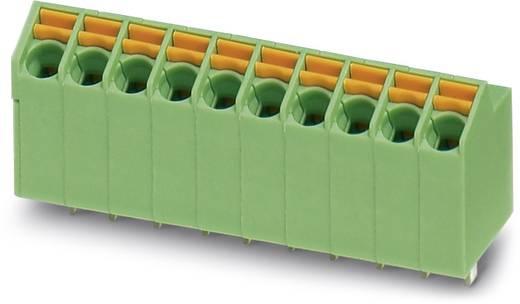 Federkraftklemmblock 1.00 mm² Polzahl 12 SPTA 1/12 tot 3,5 Phoenix Contact Grün 50 St.