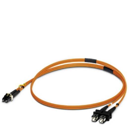 Phoenix Contact Glasfaser LWL Anschlusskabel [1x LC-Stecker - 1x SC-Stecker] 50/125 µ Multimode OM2 1 m
