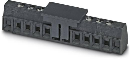 Schraubklemmblock 1.00 mm² Polzahl 10 MKDS 1/10-3,81 SMD BK Phoenix Contact Schwarz 11 St.