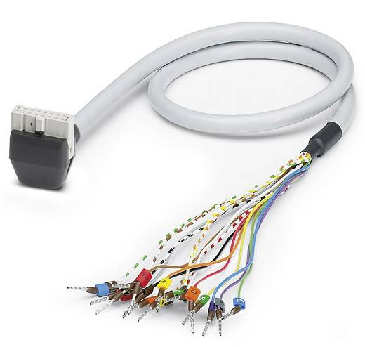 Sensor-/Aktor-Steckverbinder, konfektioniert Federleiste abgewinkelt 1.50 m Polzahl (RJ): 16 Phoenix Contact 2900132 VI