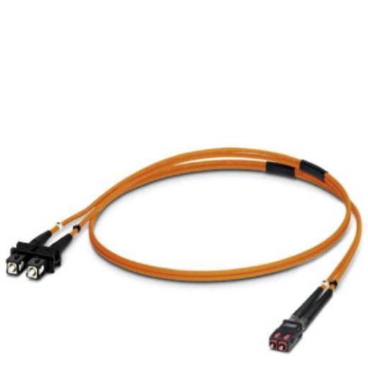 Glasfaser LWL Anschlusskabel [1x SC-Stecker - 1x SC-RJ Stecker] 50/125µ Multimode OM2 2 m Phoenix Contact