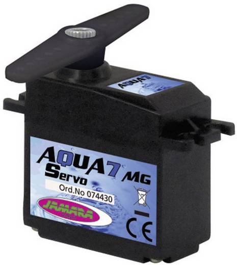 Jamara Servo Aqua7 MG Kugellager Getriebe Metall