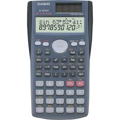 Schulrechner Casio FX-85MS Schwarz Display (Stellen): 12 solarbetrieben, batteriebetrieben Preisvergleich