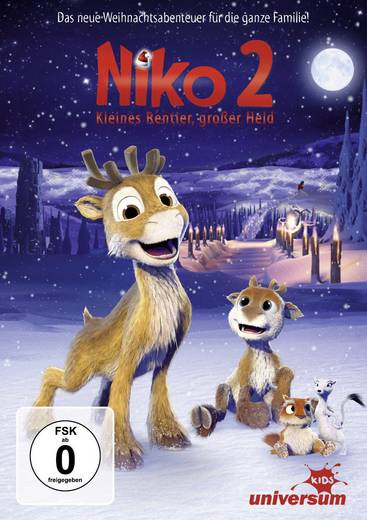 DVD Niko 2 - Kleines Rentier, großer Held FSK: 0