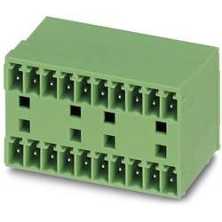 Konektor do DPS Phoenix Contact MCD 1,5/13-G1-3,81 1843185, 50.92 mm, pólů 13, rozteč 3.81 mm, 50 ks