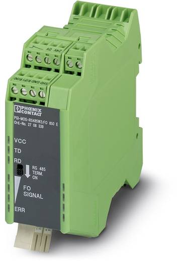 LWL-Umsetzer Phoenix Contact PSI-MOS-RS485W2/FO1300 E LWL-Konverter