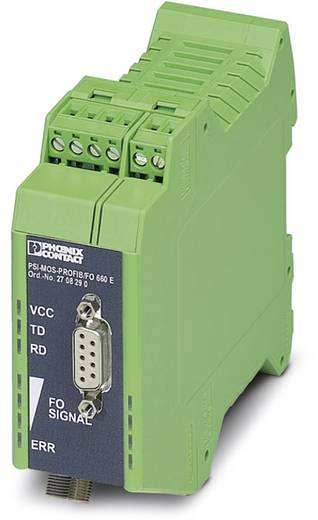 LWL-Umsetzer Phoenix Contact PSI-MOS PROFIB / FO 660 E LWL-Konverter