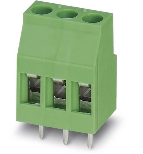Schraubklemmblock 2.50 mm² Polzahl 3 MKDSP 3/ 3 Phoenix Contact Grün 50 St.