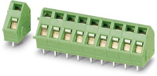 Federkraftklemmblock 1.50 mm² Polzahl 10 ZFKDSA 1,5C-5,0-10 Phoenix Contact Grün 50 St.