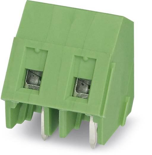 Schraubklemmblock 1.50 mm² Polzahl 2 GSMKDSP 1,5/2-7,62 Phoenix Contact Grün 250 St.
