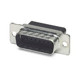 D-SUB kolíková lišta Phoenix Contact VS-15-ST-DSUB-CD-OG, 180 °, Počet pinov 15, krimpované , 10 ks