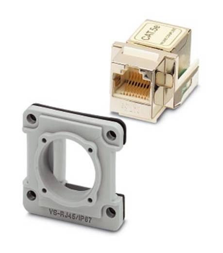 Sensor-/Aktor-Steckverbinder, unkonfektioniert Anbaurahmen Phoenix Contact 1689488 VS-08-A-RJ45/MOD-1-IP67-SET-BU 5 S