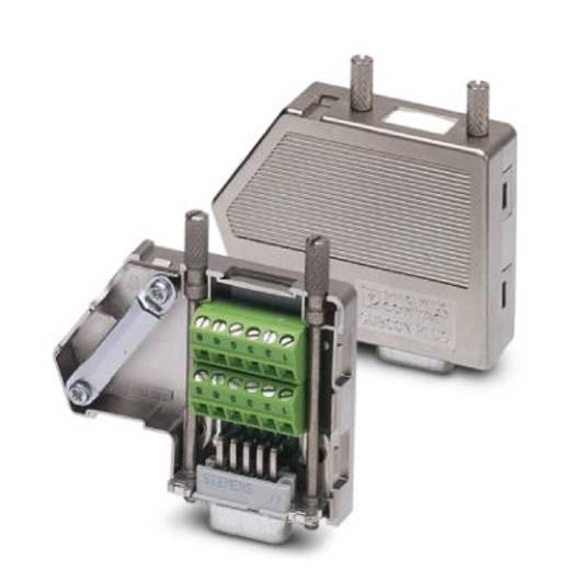 Sensor-/Aktor-Datensteckverbinder Buchse, gerade Polzahl (RJ): 9 Phoenix Contact 2744089 SUBCON-PLUS F4 1 St.