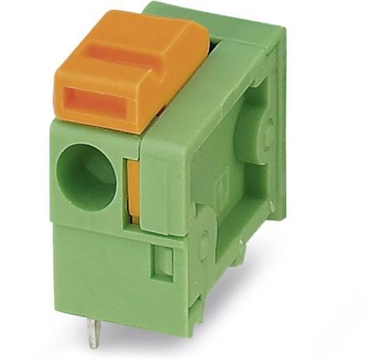 Federkraftklemmblock 1.50 mm² Polzahl 1 FFKDSA1 / H1-7,62 Phoenix Contact Grün 250 St.