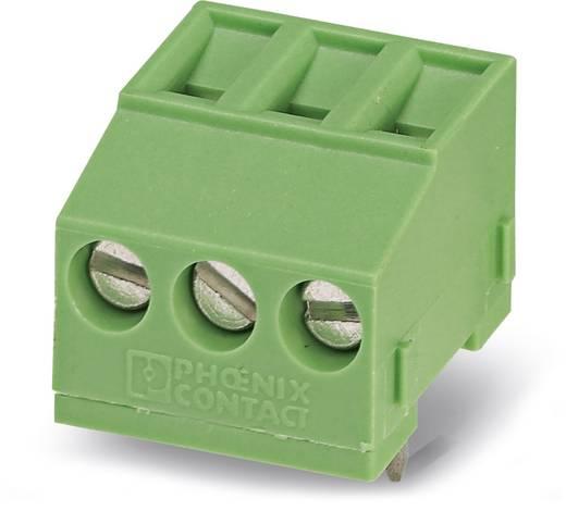 Schraubklemmblock 1.50 mm² Polzahl 3 MKDSFW 1,5/ 3 Phoenix Contact Grün 50 St.