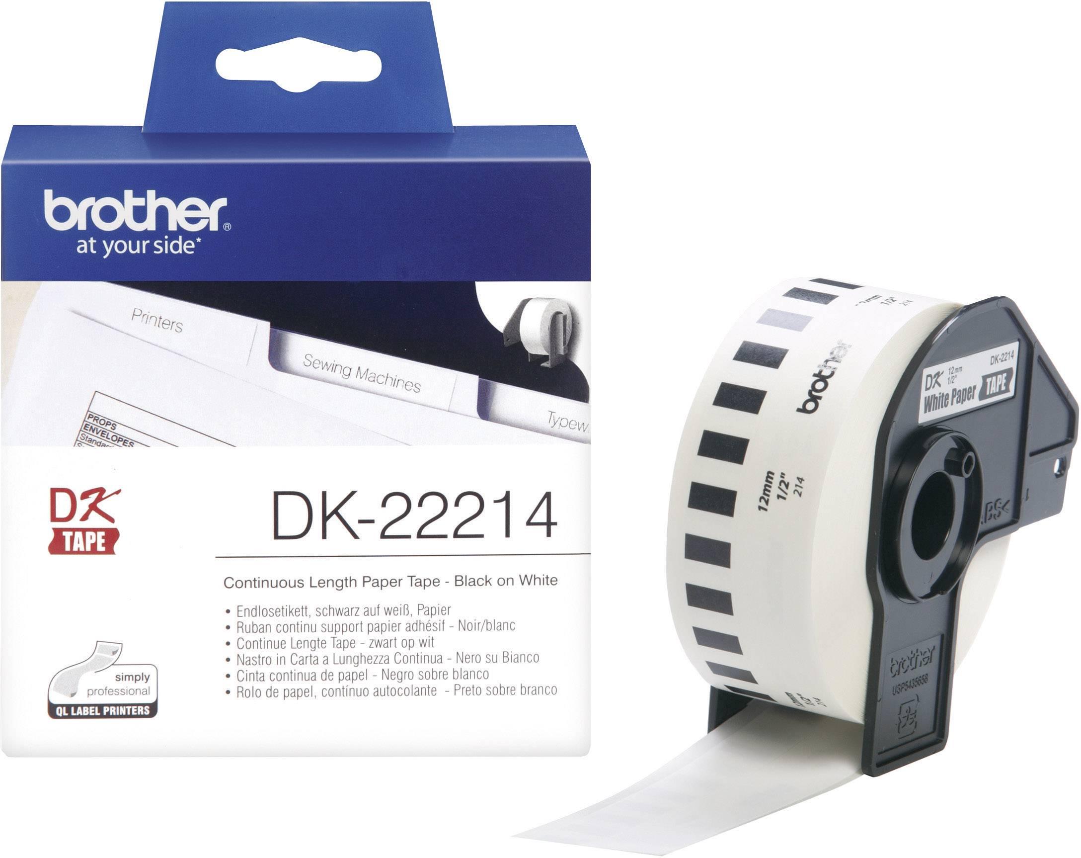 ENDLOS DRUCKER ETIKETTEN 29mm x 30.48m STANDARD für BROTHER P-touch QL-560