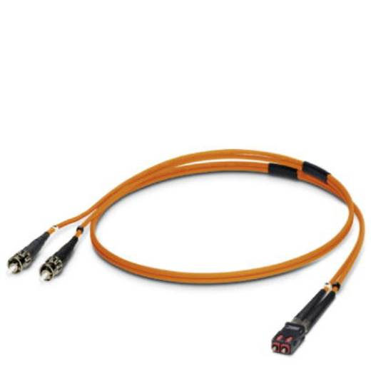 Phoenix Contact Glasfaser LWL Anschlusskabel [1x ST-Stecker - 1x SC-RJ Stecker] 50/125 µ Multimode OM2 2 m