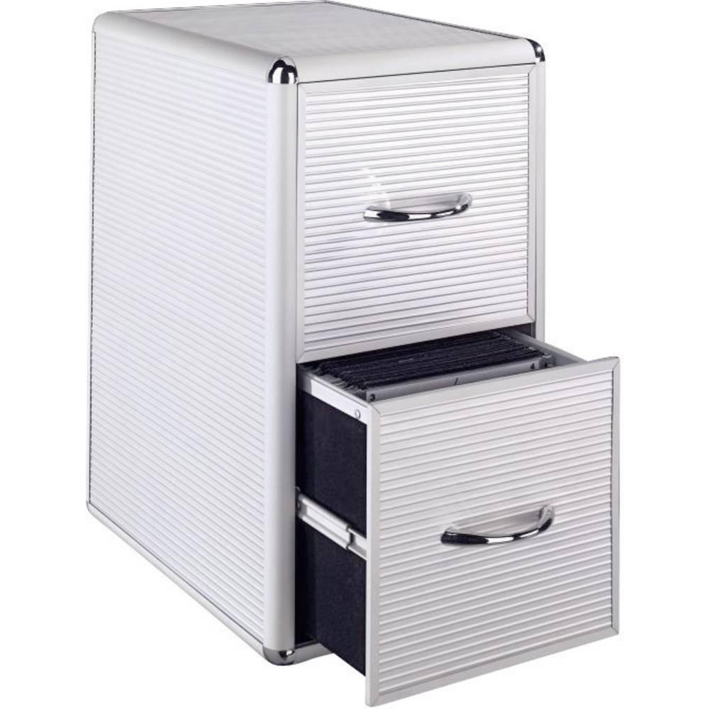 hama 300 cd dvd aluminium storage cabinet from conrad. Black Bedroom Furniture Sets. Home Design Ideas