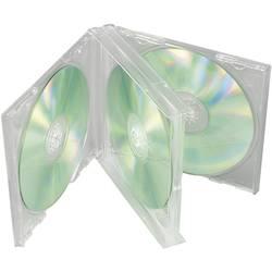 Krabička pro 4 CD, transparentní