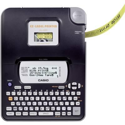Casio KL-820 Beschriftungsgerät Geeignet für Schriftband: XR 6 mm, 9 mm, 12 mm, 18 mm, 24  Preisvergleich