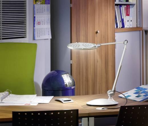 led schreibtischleuchte 5 w tageslicht wei l750 l750 metall silber. Black Bedroom Furniture Sets. Home Design Ideas